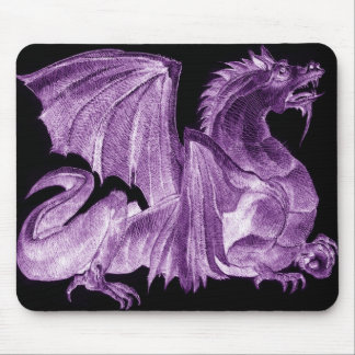 Dragon Master Purple Mousepad