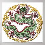 Dragon Medallion Poster