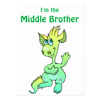 dragon middle brother postcard