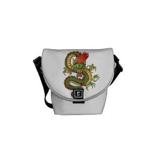 Dragon Mini-Messenger Bag Messenger Bags