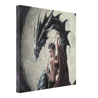 Dragon Mistress - Wrapped Canvas