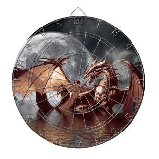 Dragon & Moon Fantasy Art Dart Board