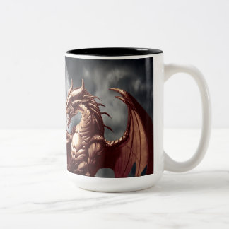 Dragon & Moon Fantasy Mug