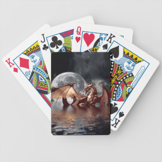 Dragon Moon Fantasy Mythical Playing Cards