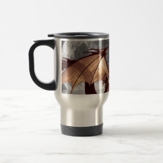 Dragon & Moon Fantasy Travel Mug