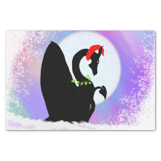 """Dragon Moon Holiday (Colorful Haze) 10"""" X 15"""" Tissue Paper"""