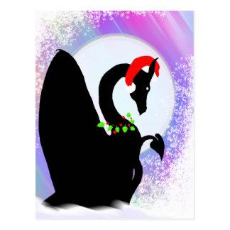 Dragon Moon Holiday (Colorful Haze) Postcard