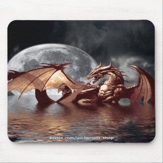 Dragon & Moon Mousepad