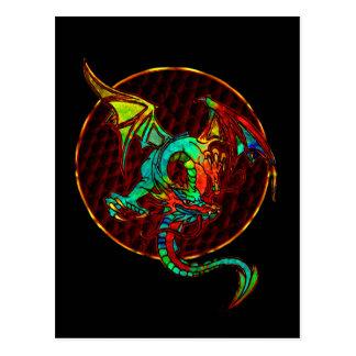 Dragon Moon Postcard
