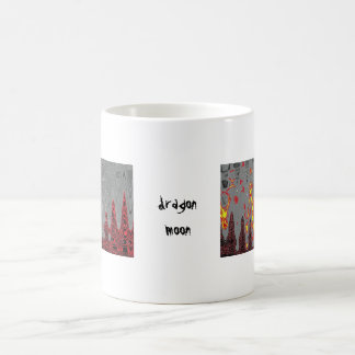 dragon moon scales coffee mugs