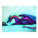 Dragon mother Postcard