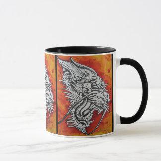 Dragon mug by Dana Tyrrell