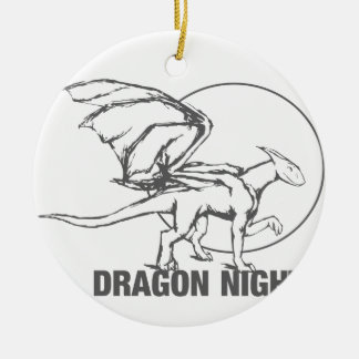 Dragon Night - Design Christmas Ornament