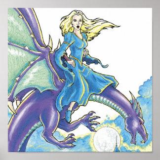 dragon night princess poster