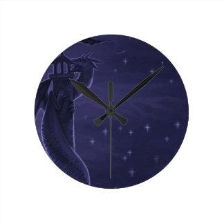 Dragon Night Sky Clock