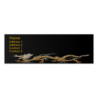 Dragon Of Buddhan Profile Card Pack Of Skinny Business Cards
