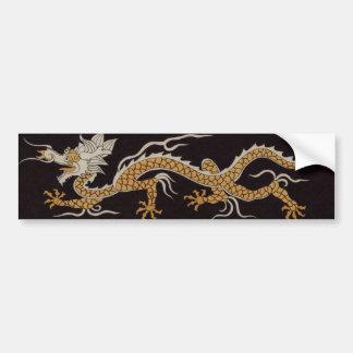 Dragon Of Buddhan Sticker Bumper Sticker