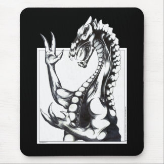 Dragon of the Dark Mouse Pad