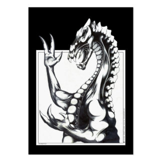 Dragon of the Dark Pack Of Chubby Business Cards
