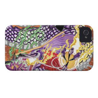 Dragon Of The Lotus iPhone4/4S Cases iPhone 4 Cover
