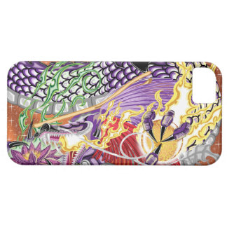 Dragon Of The Lotus iPhone5/5S Cases