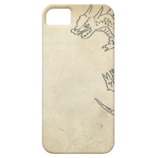 Dragon on Parchment Case For The iPhone 5