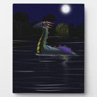 Dragon on the Lake Plaque