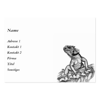 Dragon on the Rock Large Business Cards (Pack Of 100)
