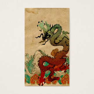 Dragon on Water Business Card