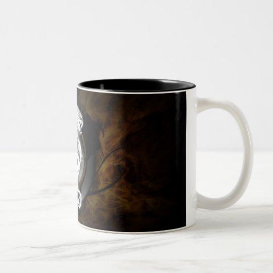 Dragon orb Two-Tone coffee mug