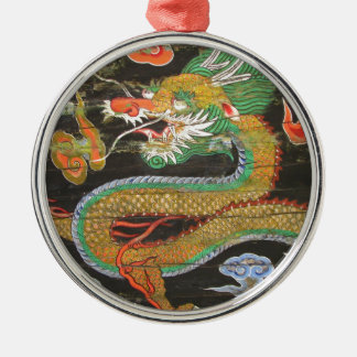 Dragon painting on the Korean ceiling of Sungnyemu Christmas Ornament