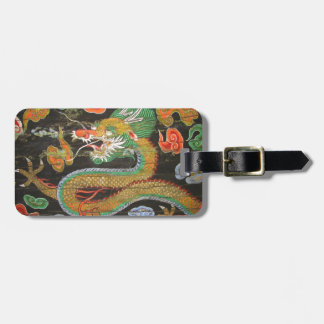 Dragon painting on the Korean ceiling of Sungnyemu Luggage Tag
