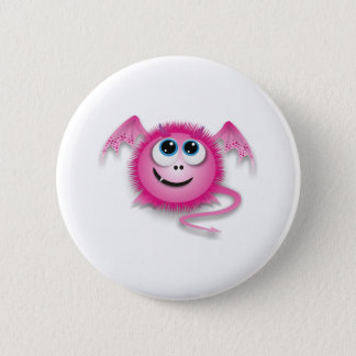 Dragon pinky 6 cm round badge