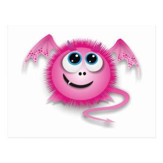 Dragon pinky postcard