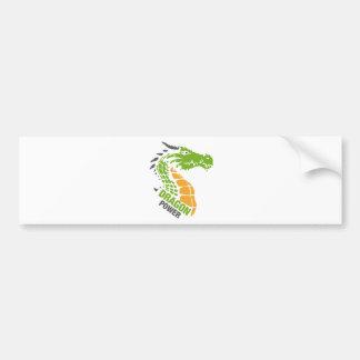 Dragon Power - Pride / Strength / Leadership Bumper Sticker