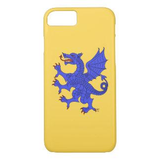 Dragon Rampant Azure iPhone 8/7 Case