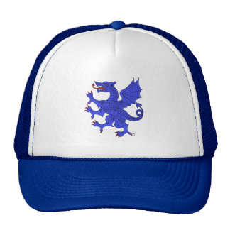 Dragon Rampant (Blue) Hat