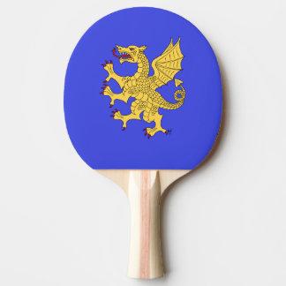 Dragon Rampant Or Ping Pong Paddle