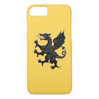Dragon Rampant Sable iPhone 8/7 Case