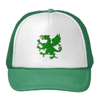 Dragon Rampant Vert Cap