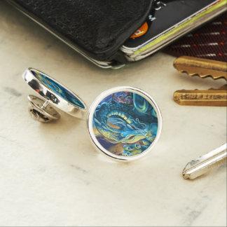 Dragon Rider and Sorcerer Lapel Pin
