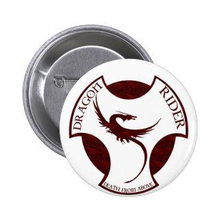 Dragon Rider 6 Cm Round Badge