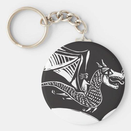 Dragon Rider Key Ring