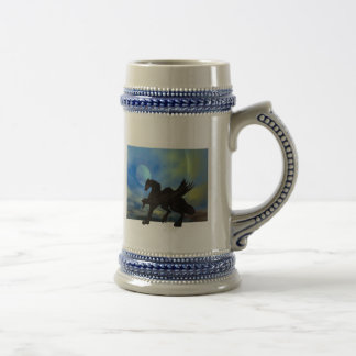 Dragon Rising Beer Stein