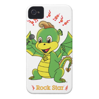 Dragon Rockstar™ BlackBerry Bold Case-Mate Barely iPhone 4 Case