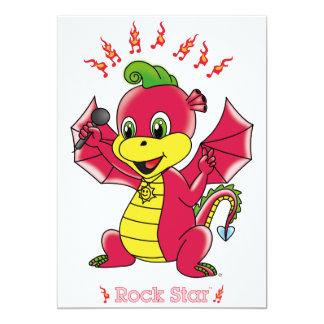 Dragon Rockstar™ Invitations