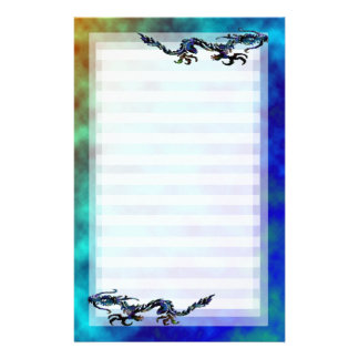 Dragon Run Stationery Paper