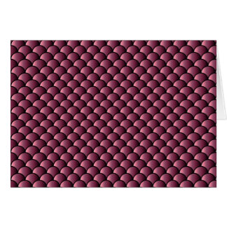 Dragon Scales Pattern Card