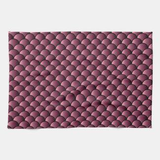 Dragon Scales Pattern Kitchen Towel