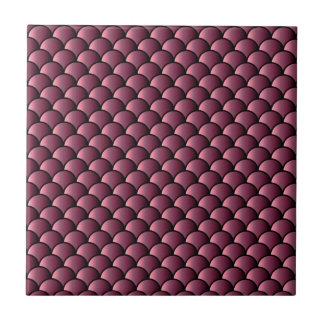 Dragon Scales Pattern Ceramic Tile